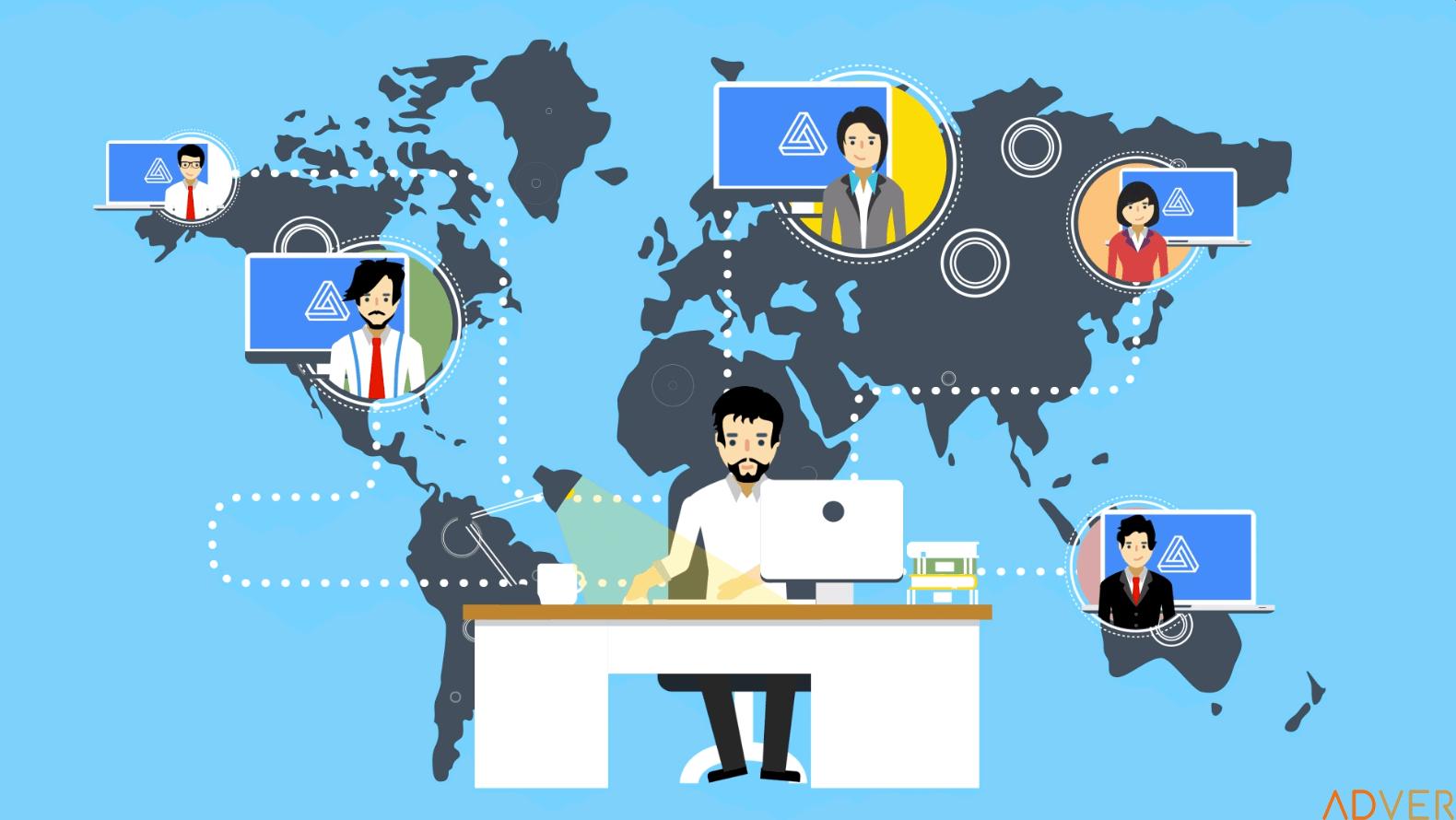 Việc làm từ xa: Công ty đa quốc gia và Startup là sự lựa chọn hàng ...